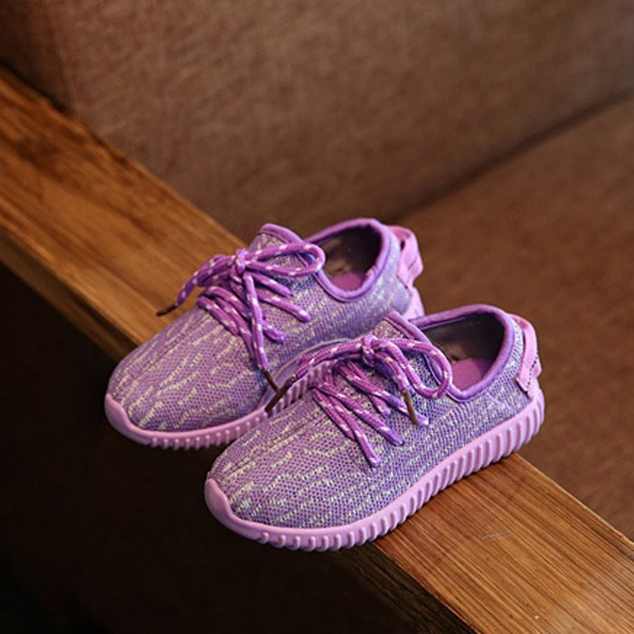 sneaker paars. 1
