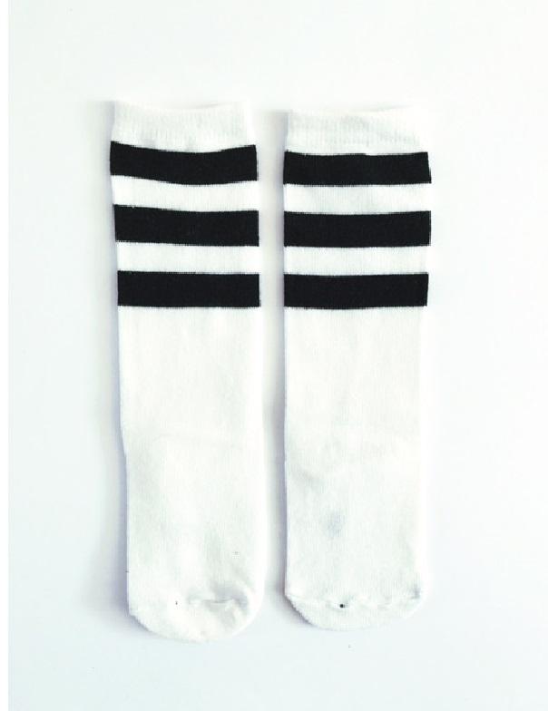 stripe sok wit.1