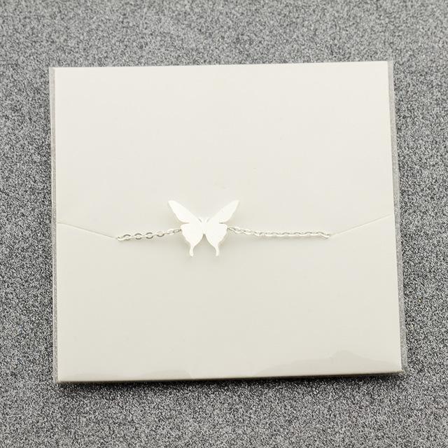 armbandje zilver vlinder.1