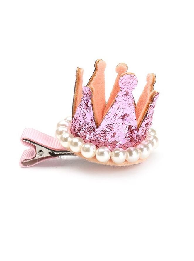 haarspeld kroon roze.1