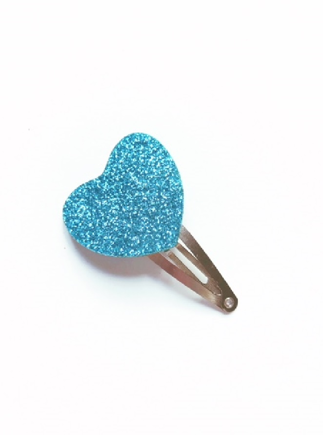 haarspeldje blauw hartje.1