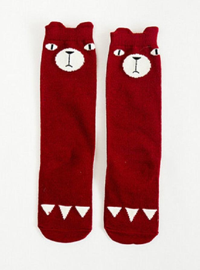 sokken beer rood.1.1