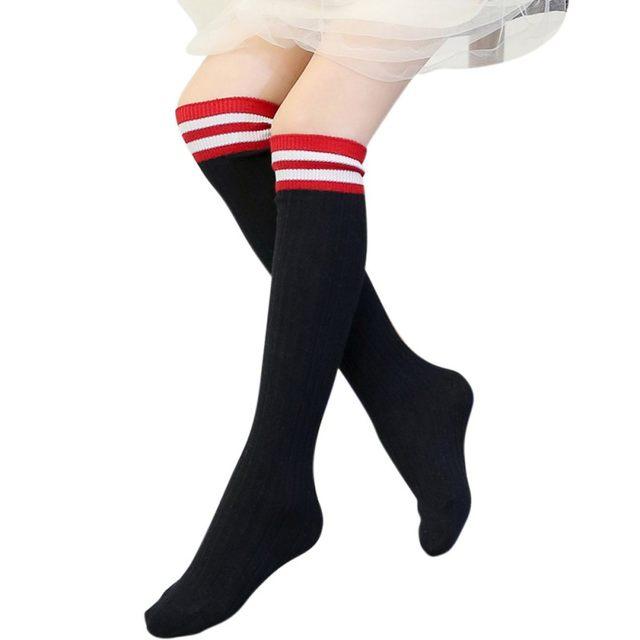 sokken streep rood-wit.3