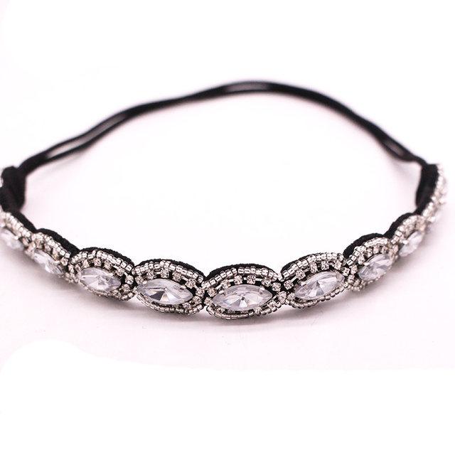 haarband bohemian zilver