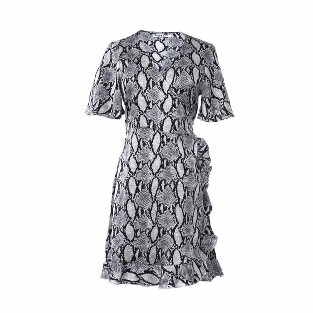 snake dress short