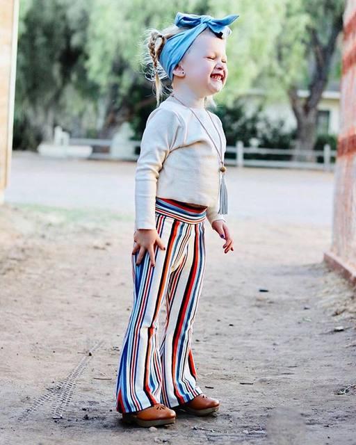 Flared Stripe pants.2