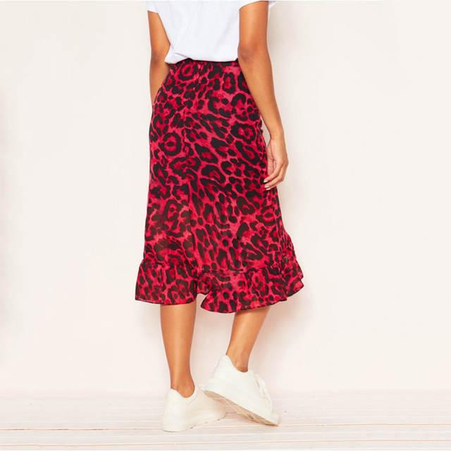 red wild skirt.3