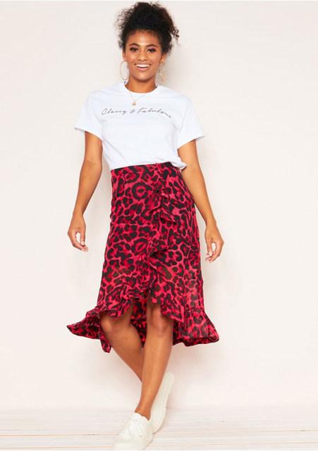 red wild skirt.4