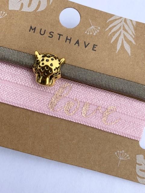Leopard Love armband.2